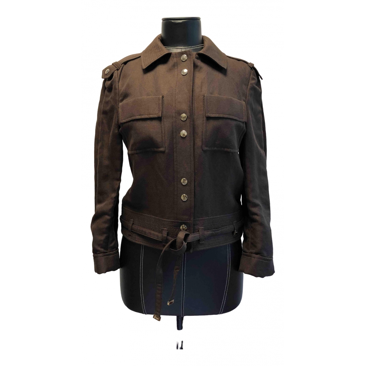 Gucci \N Brown Cotton jacket for Women M International