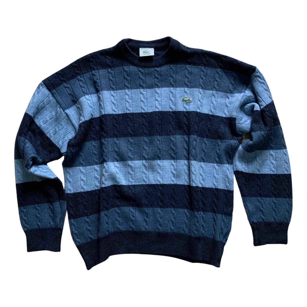 Lacoste \N Pullover.Westen.Sweatshirts  in  Blau Wolle