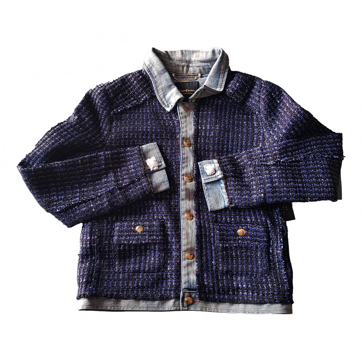 Juicy Couture - Veste   pour femme en coton - bleu