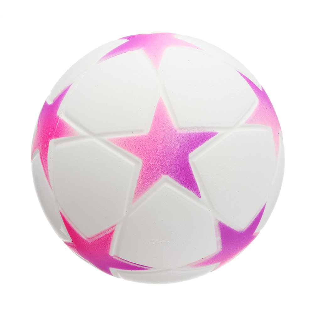 Star Football Squishy Slow Rising With Packaging Collection Gift Soft Toy