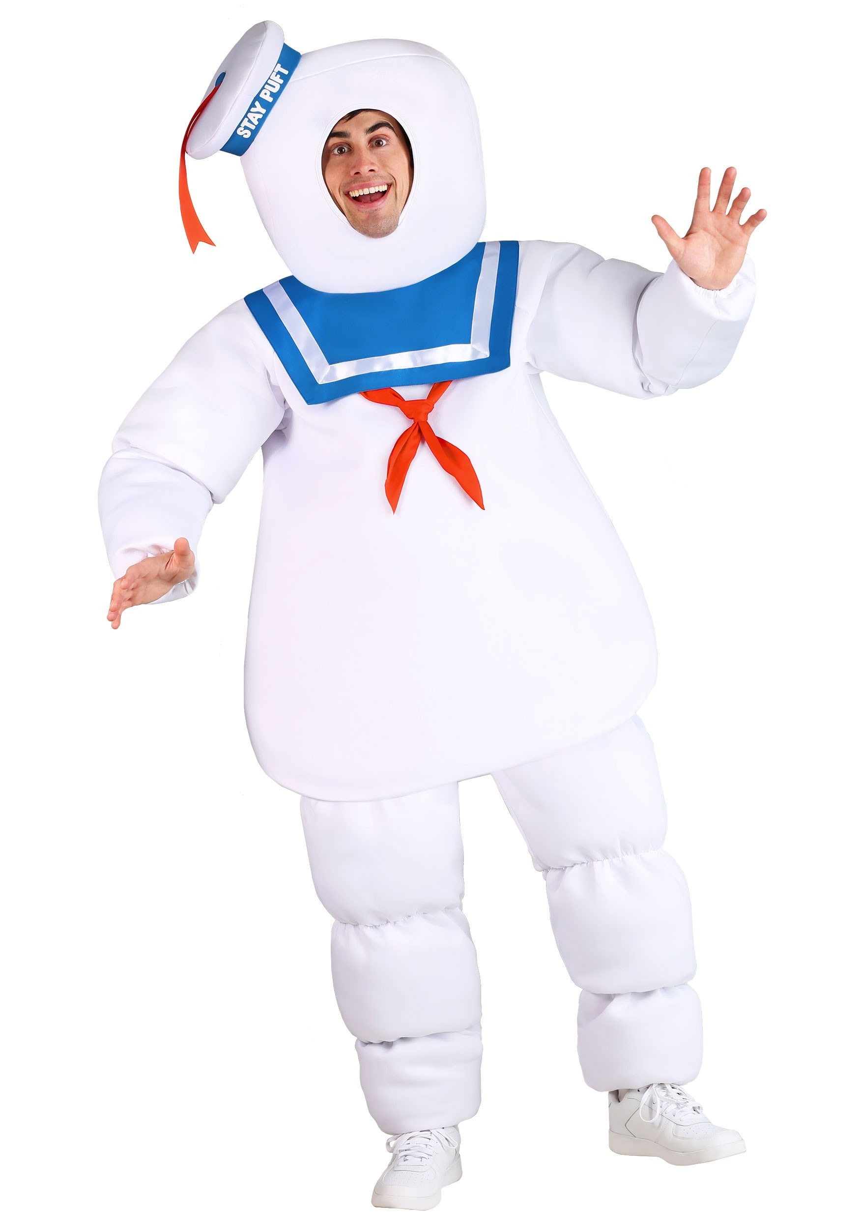 Plus Size Ghostbusters Stay Puft Costume