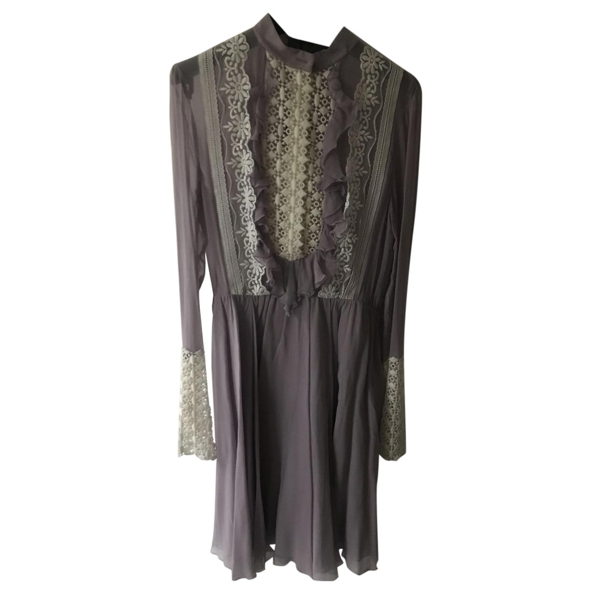 Giambattista Valli - Robe   pour femme en soie - violet
