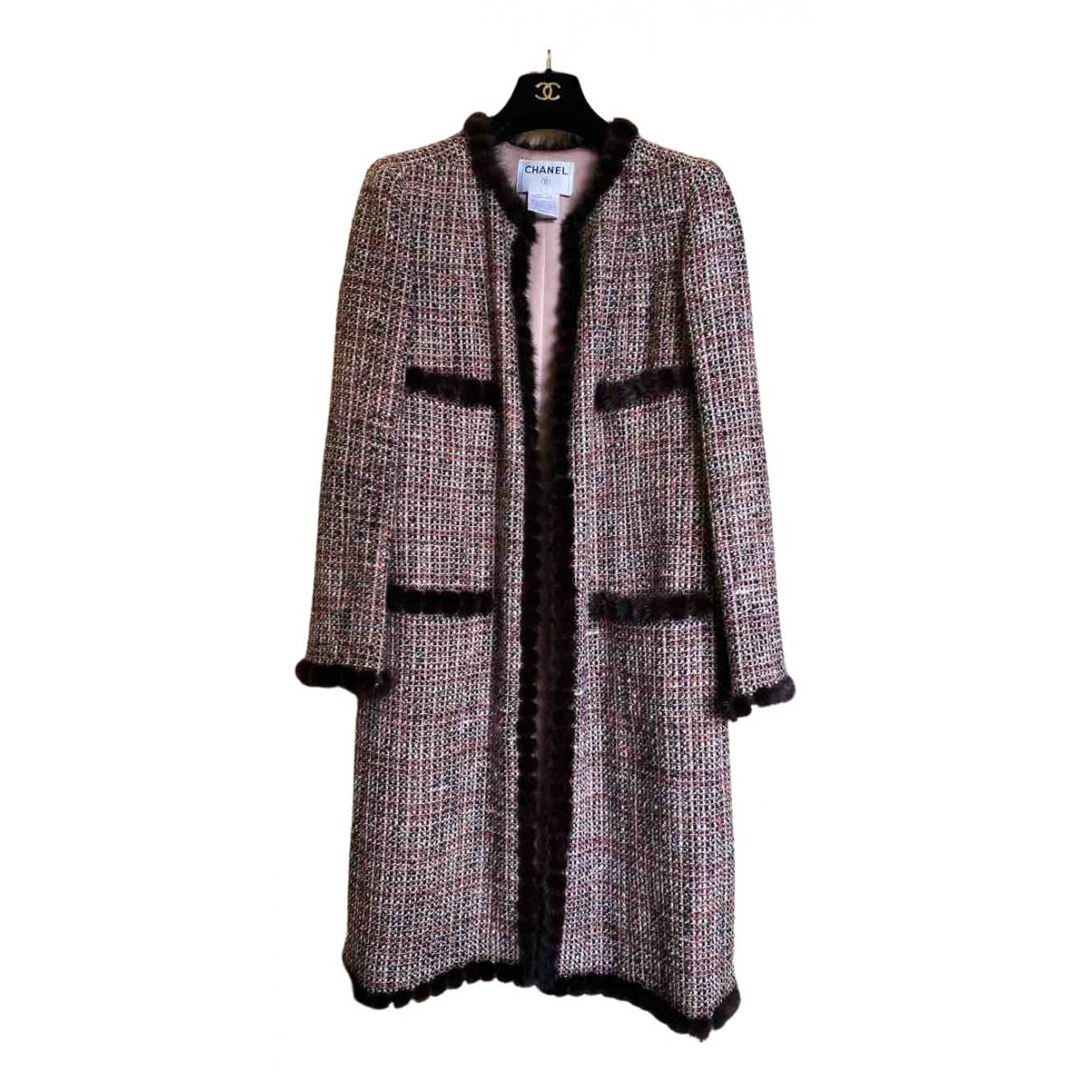 Chanel \N Maentel in  Bunt Tweed
