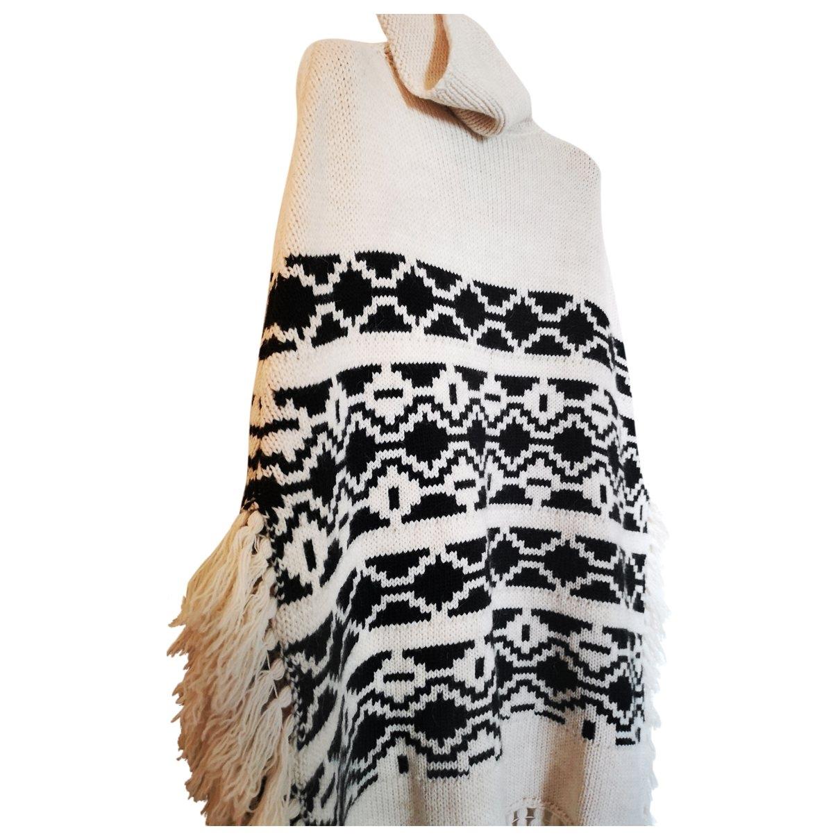 Maje - Veste   pour femme en laine - ecru