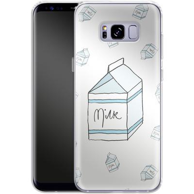 Samsung Galaxy S8 Plus Silikon Handyhuelle - Milk von caseable Designs