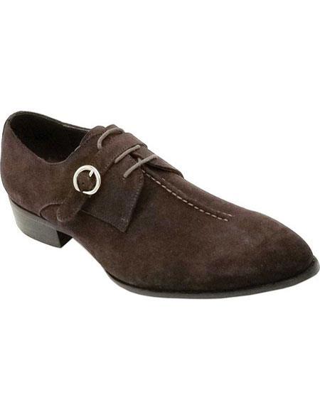 Mens Buckle Closure Black Unique Zota Mens Dress Shoe