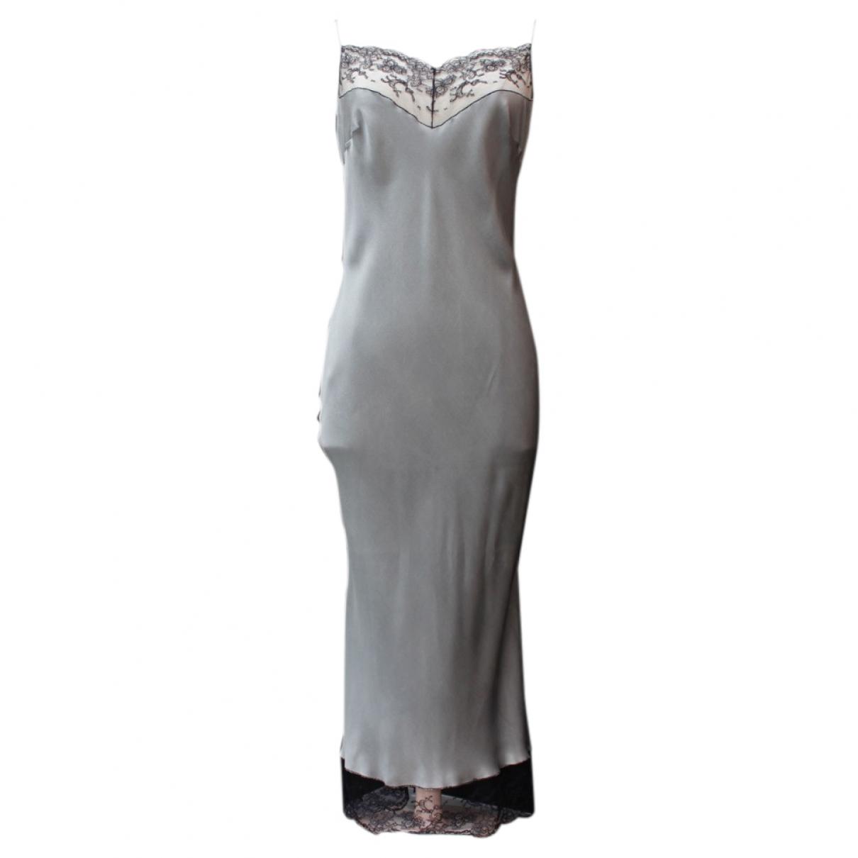 Mini vestido de Seda John Galliano