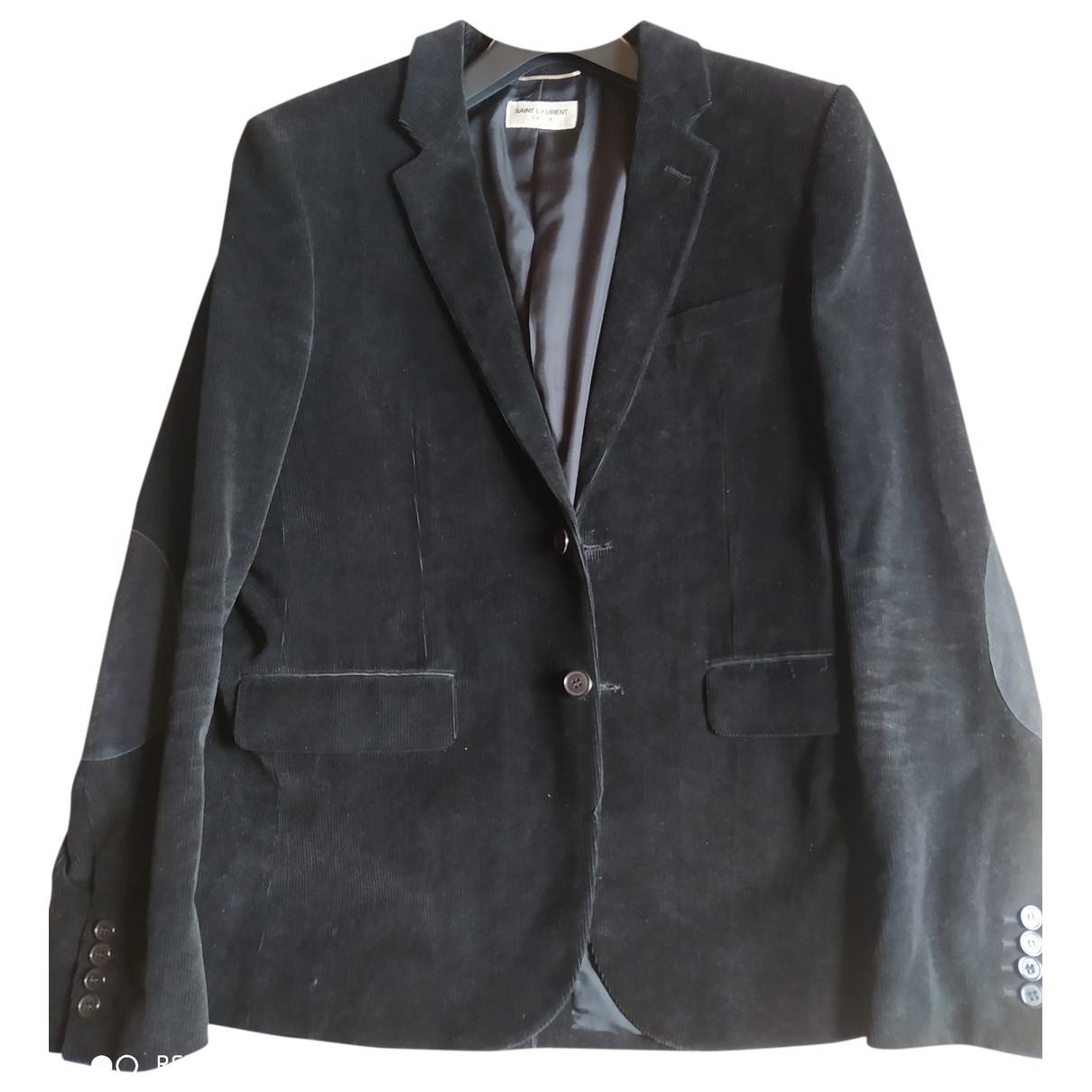 Saint Laurent \N Black Cotton jacket  for Men L International