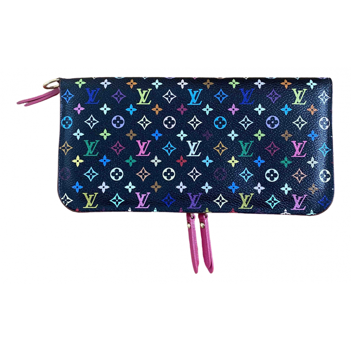 Louis Vuitton - Portefeuille Insolite pour femme en toile - multicolore