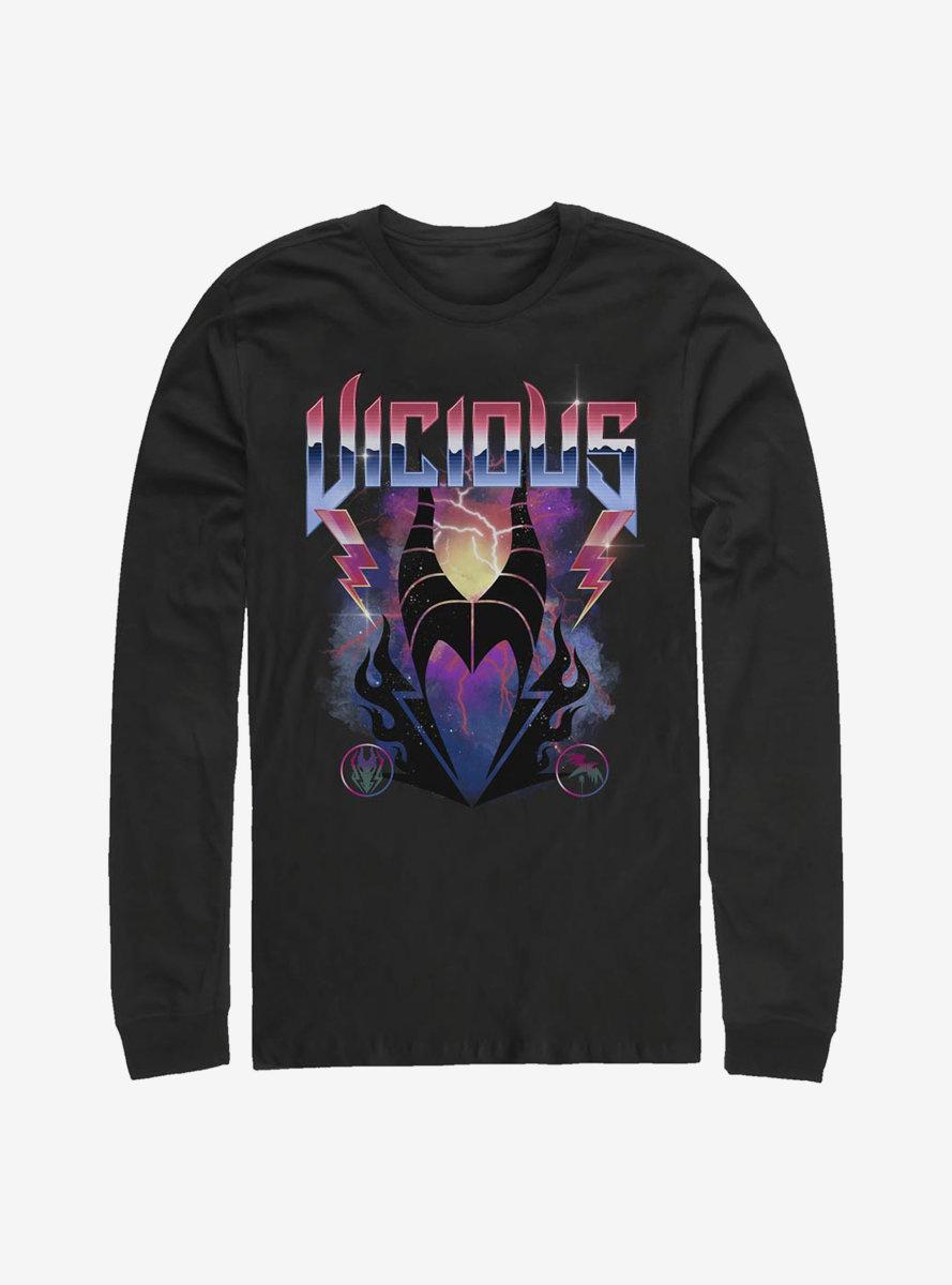 Disney Sleeping Beauty Vicious Maleficent Long-Sleeve T-Shirt