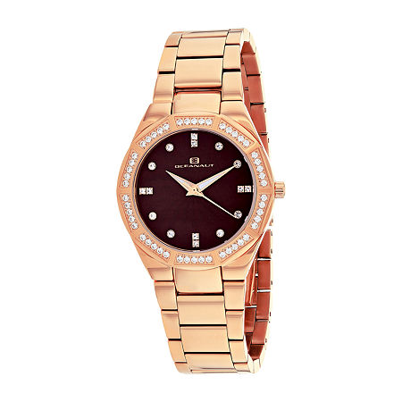 Oceanaut Womens Rose Goldtone Stainless Steel Bracelet Watch-Oc0256, One Size , No Color Family