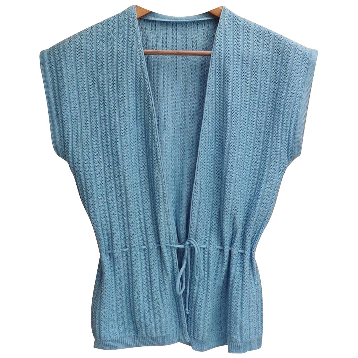 - Veste   pour femme en coton - turquoise