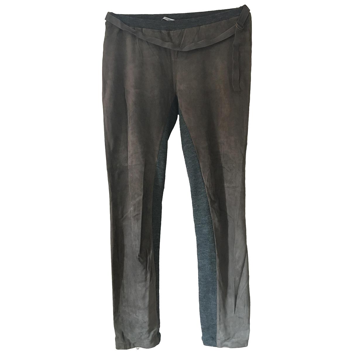 Pantalon zanahoria de Cuero Humanoid
