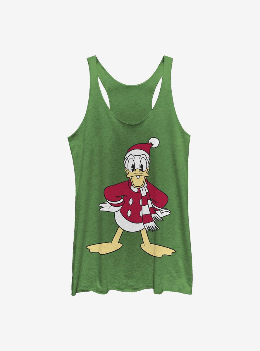 Disney Donald Duck Hat Womens Tank Top