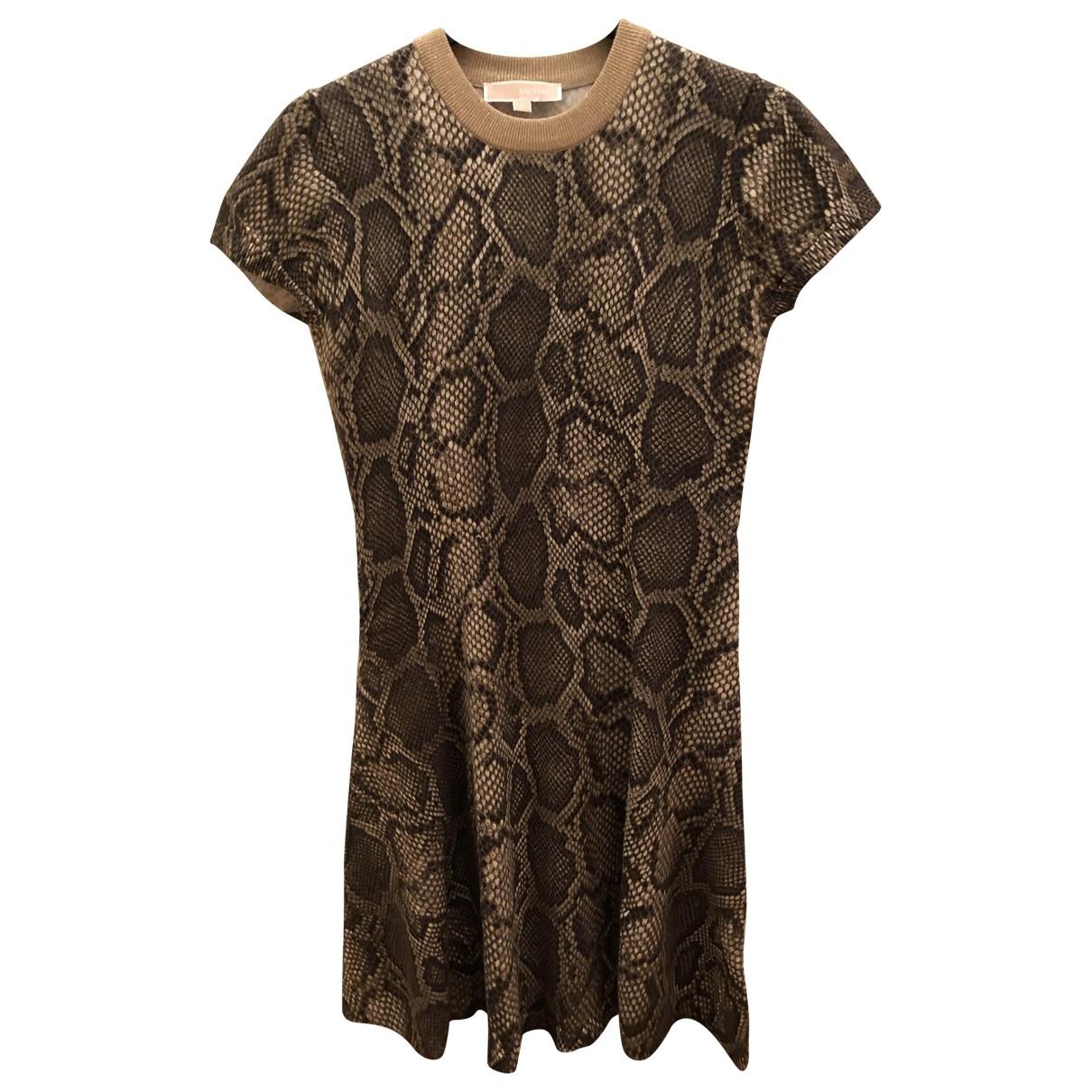 Michael Kors - Robe   pour femme en coton - beige