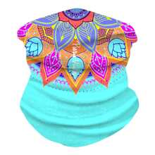 Mandala Pattern Sun Protection For The Face