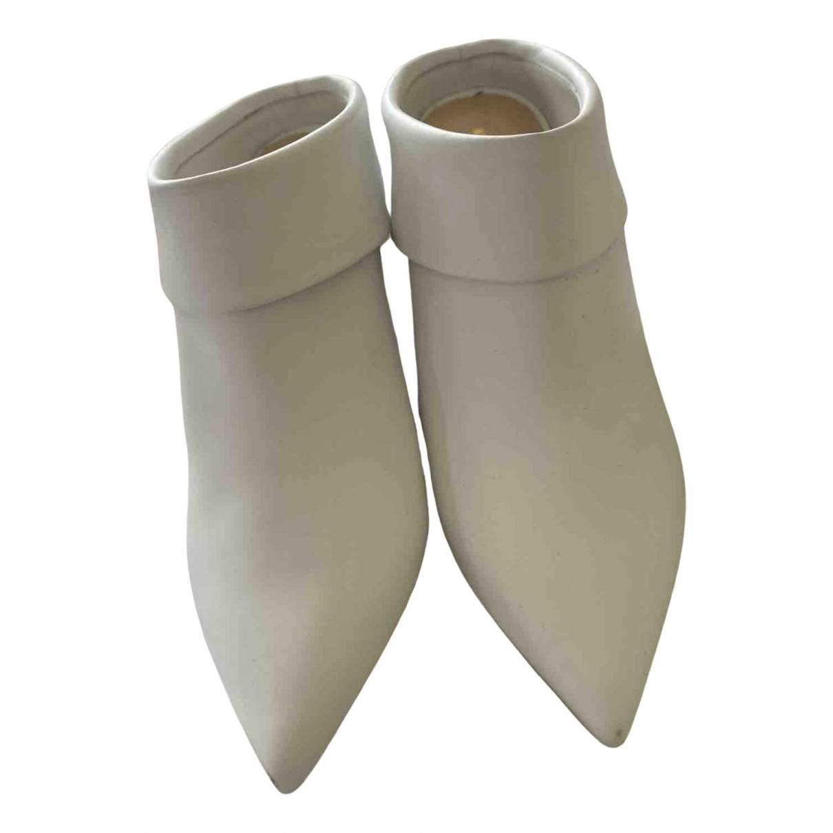 Nicholas Kirkwood - Bottes   pour femme en cuir - blanc
