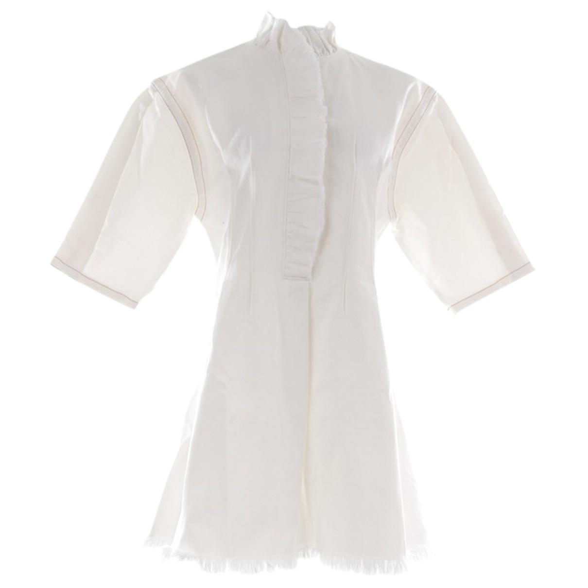 Sonia Rykiel N White Cotton dress for Women 40 FR