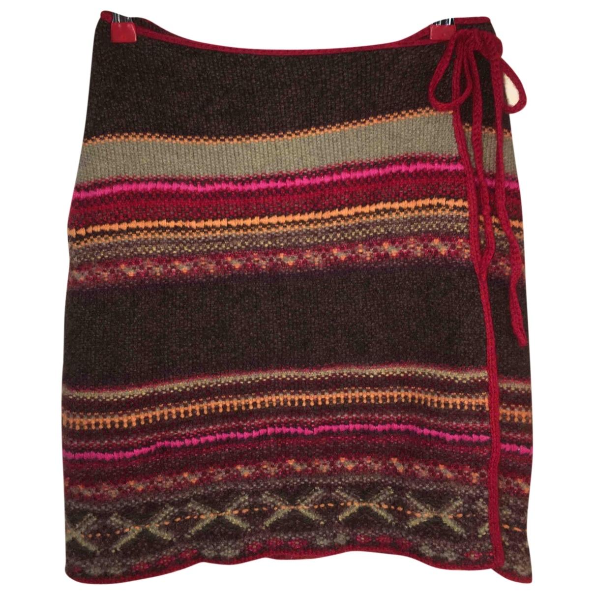 Mini falda de Cachemira Ralph Lauren