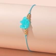 Girls Bead Decor Bracelet