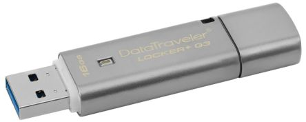 Kingston 16 GB DataTraveler Locker+ USB Stick