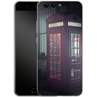 Huawei P10 Silikon Handyhuelle - London Calling 2 von Ronya Galka