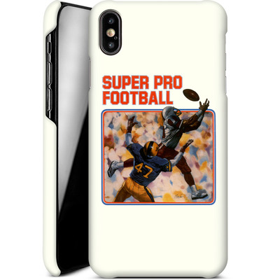 Apple iPhone XS Max Smartphone Huelle - Super Pro Football von Intellivision®