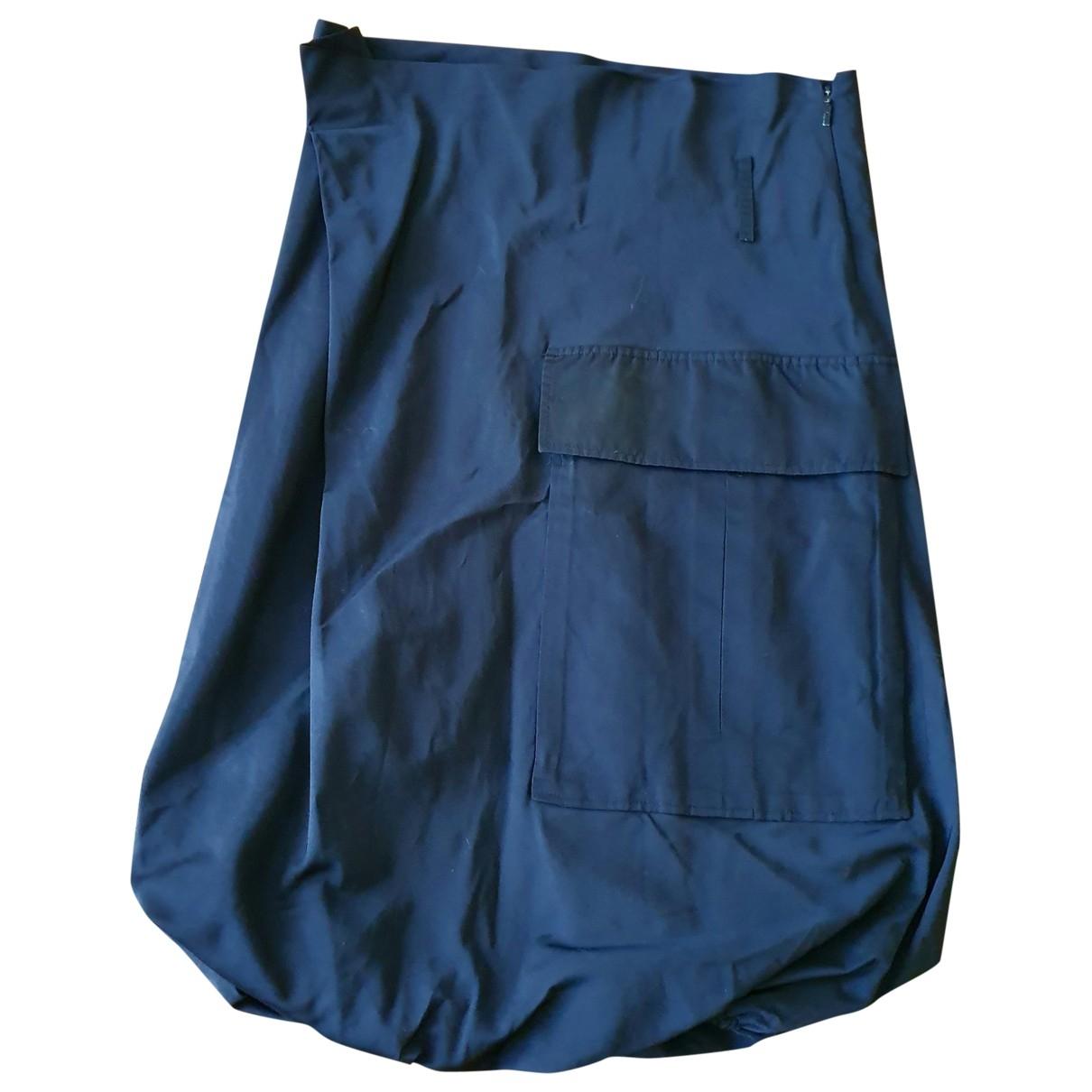 Gucci \N Black Silk skirt for Women 38 IT