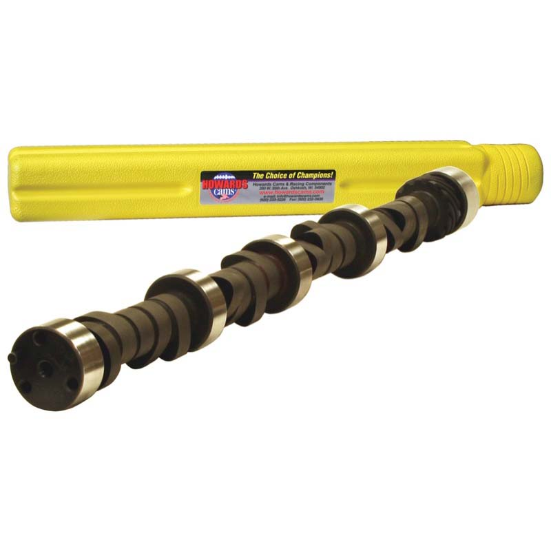 Hydraulic Flat Tappet Camshaft; 1955 - 1998 Chevy 262-400 1800 to 5800 Howards Cams 112581-08S 112581-08S