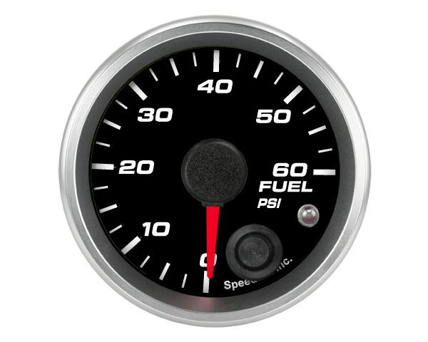 SpeedHut GR-FUEL-04 Fuel Pressure Gauge 0-60psi with Warning