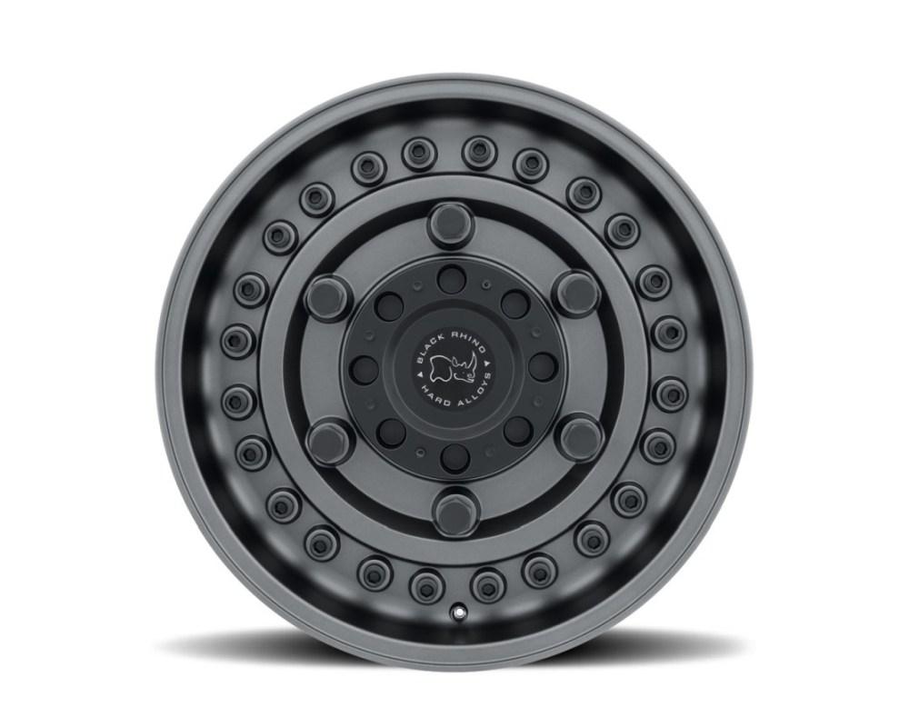 Black Rhino Armory Matte Gunblack Wheel 18x9.5 8x127|5x5 -18mm CB71.6