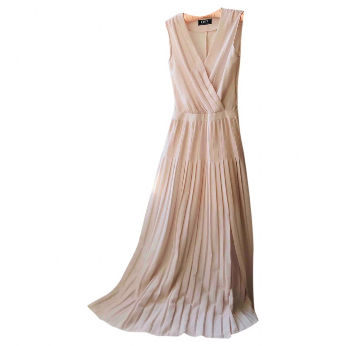 Non Signé / Unsigned \N Ecru dress for Women 8 UK