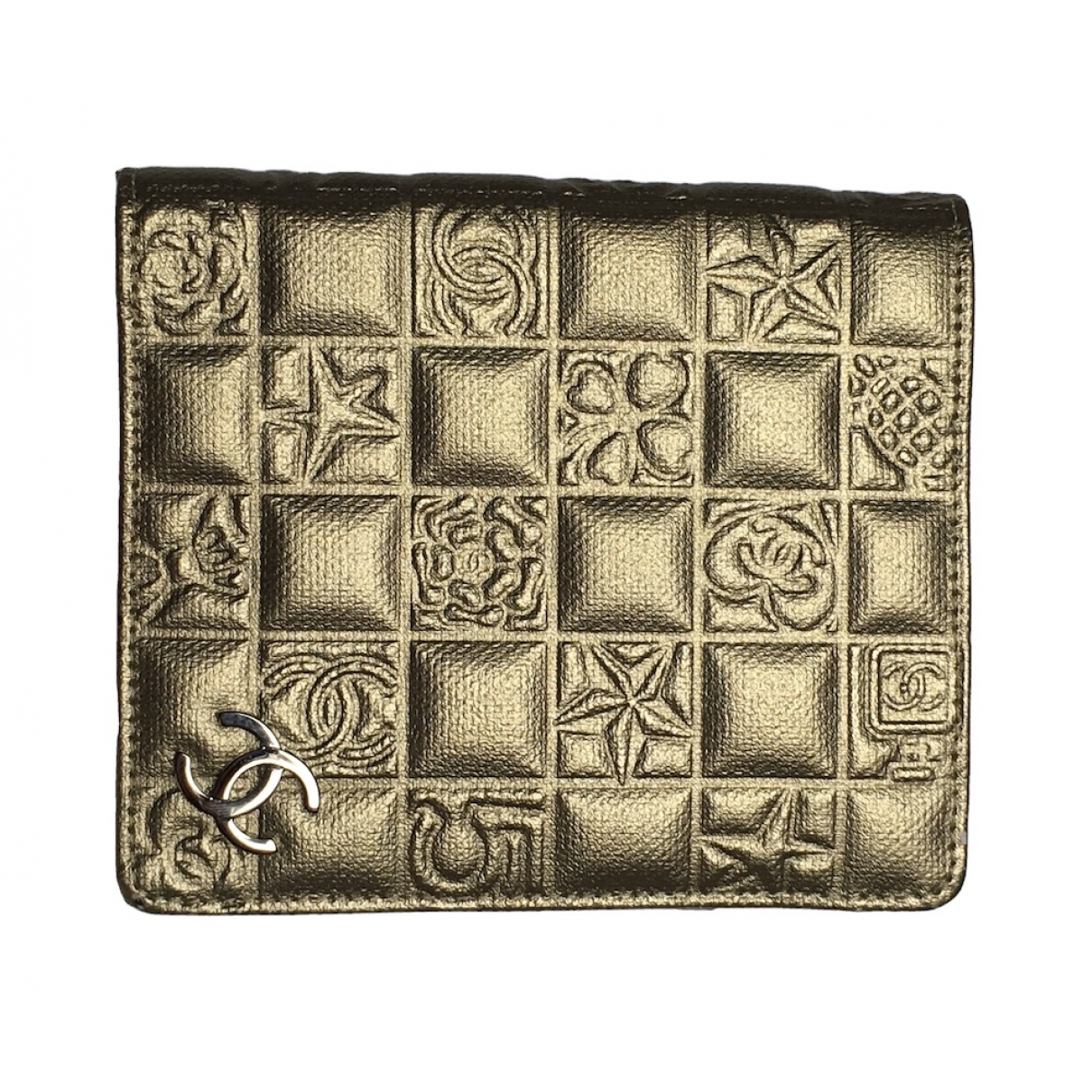 Chanel \N Gold Leather wallet for Women \N