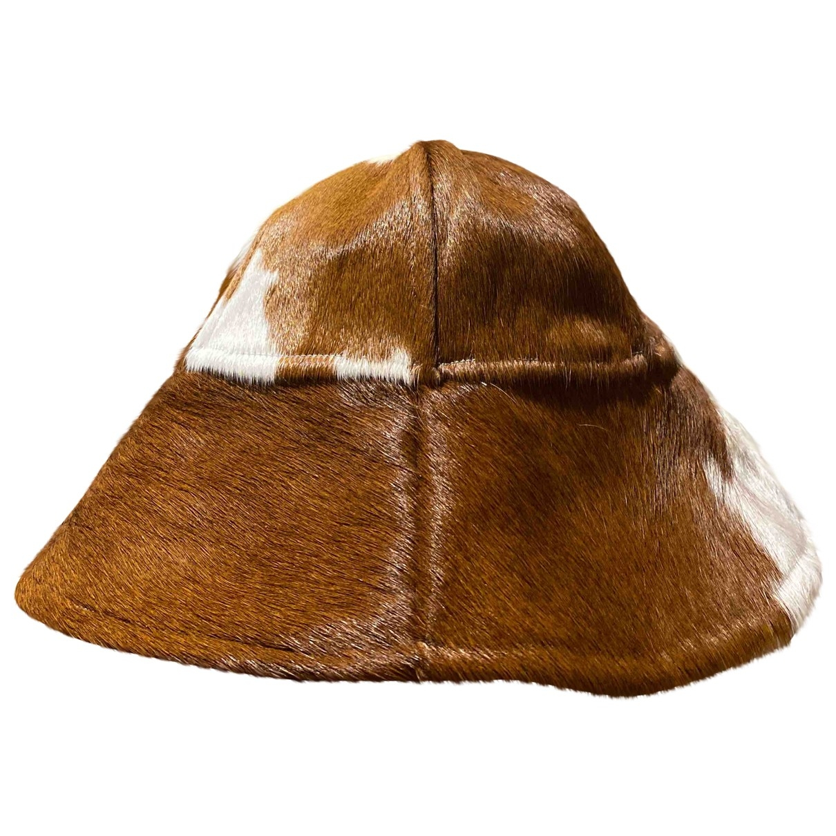 Non Signé / Unsigned \N Brown hat for Women S International