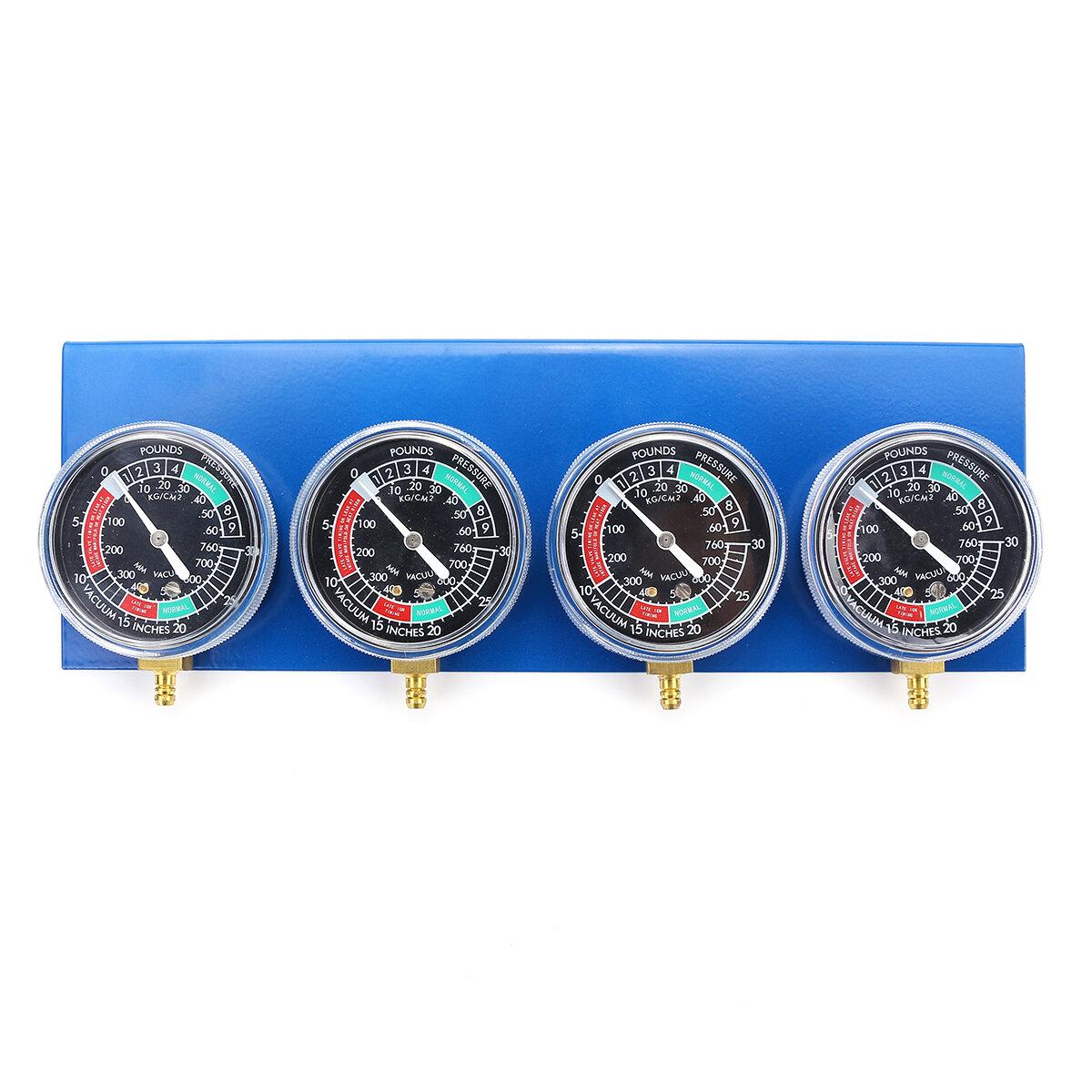 4x Motorcycle Carburetor Carb Fuel Vacuum 2/4 Cylinder Gauge Balancer Synchronizer Diagnostic Tool