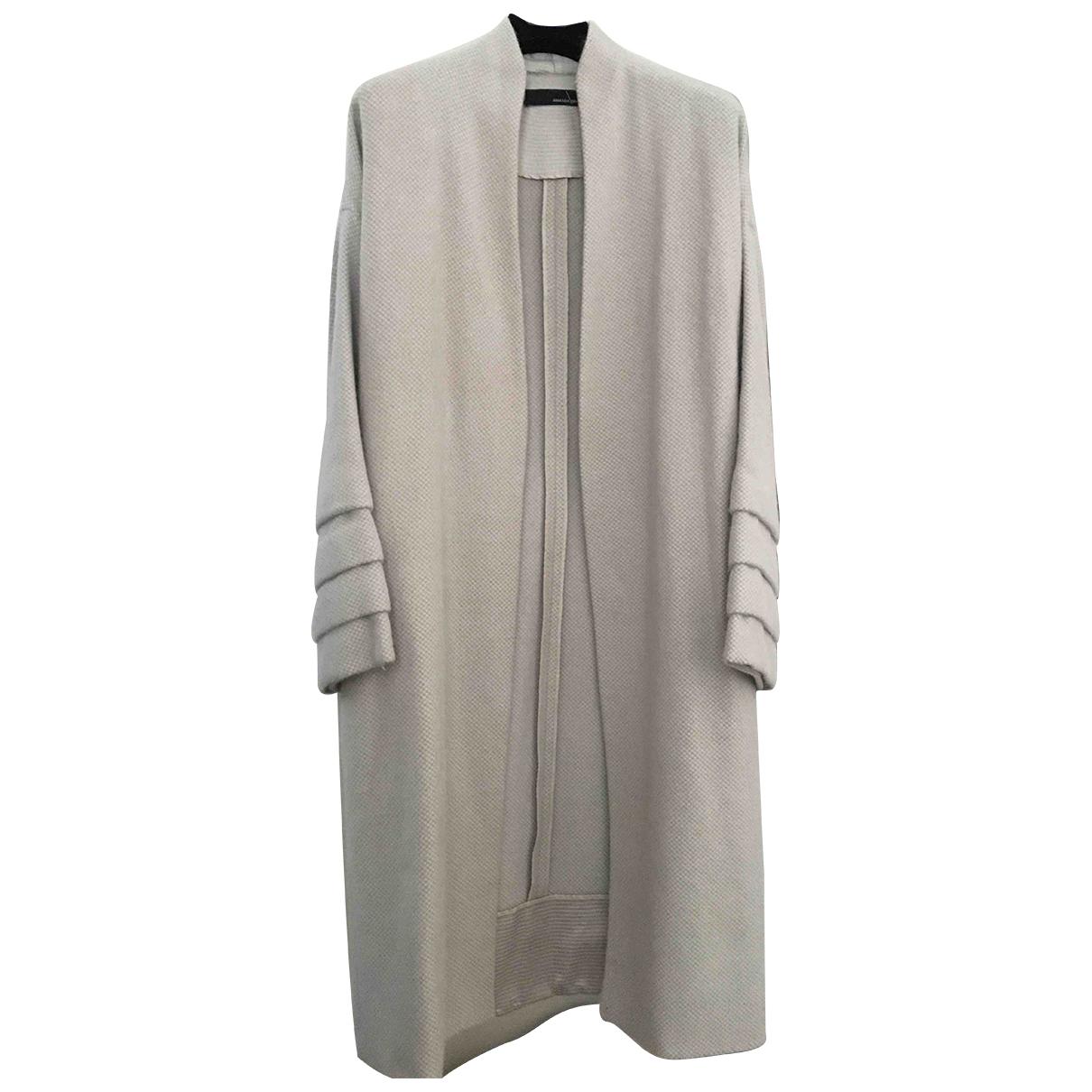 Amanda Wakeley - Manteau   pour femme en laine - beige