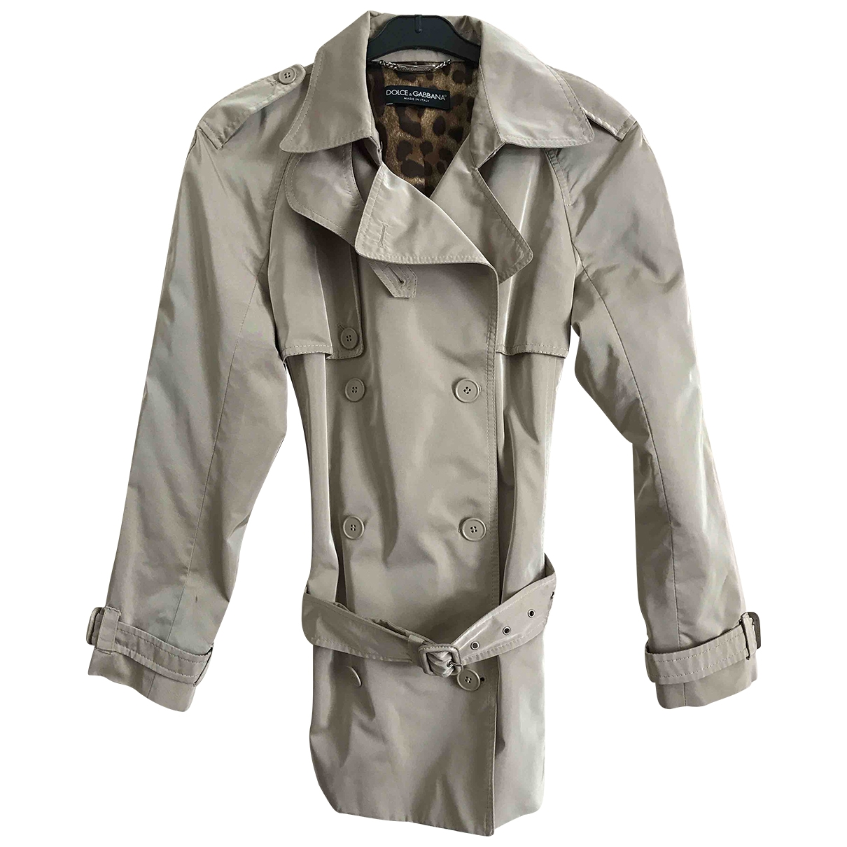 Dolce & Gabbana \N Trench in  Beige Polyester