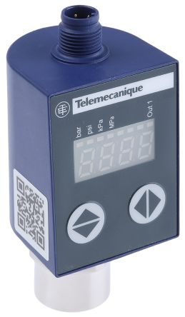 Telemecanique Sensors Air, Fresh Water, Hydraulic Oil, Refrigerator Fluid Differential Pressure Switch, 1 x NPN,