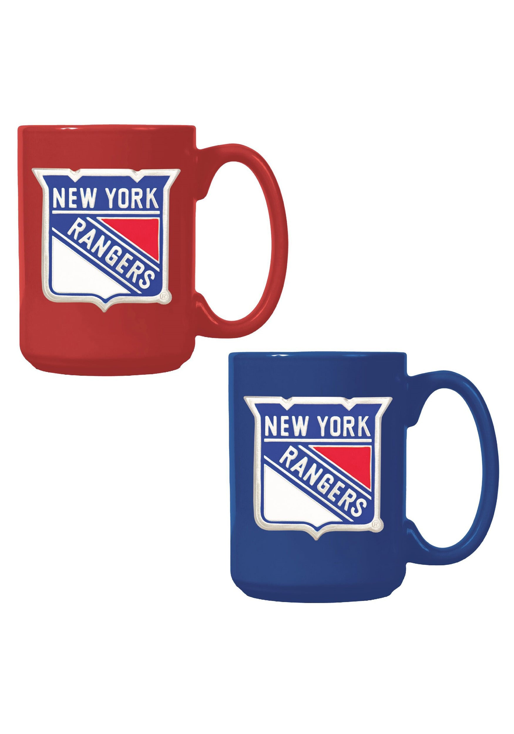 New York Rangers NHL Ceramic 15oz Mug Gift Set