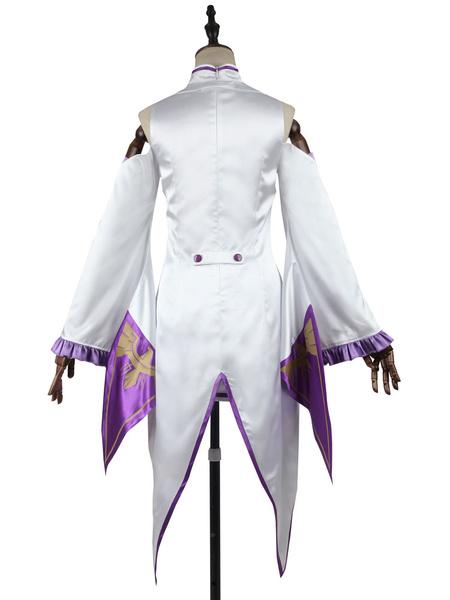 Milanoo Re Zero Starting Life In Another World Emilia Halloween Cosplay Costume Halloween