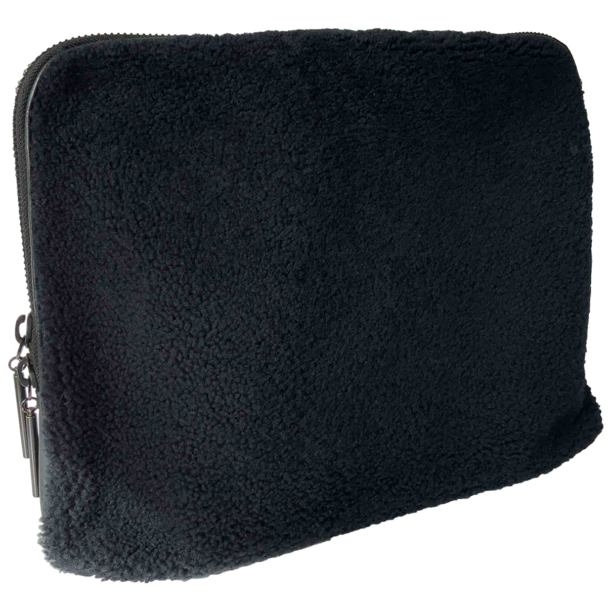 3.1 Phillip Lim \N Clutch in  Schwarz Fell