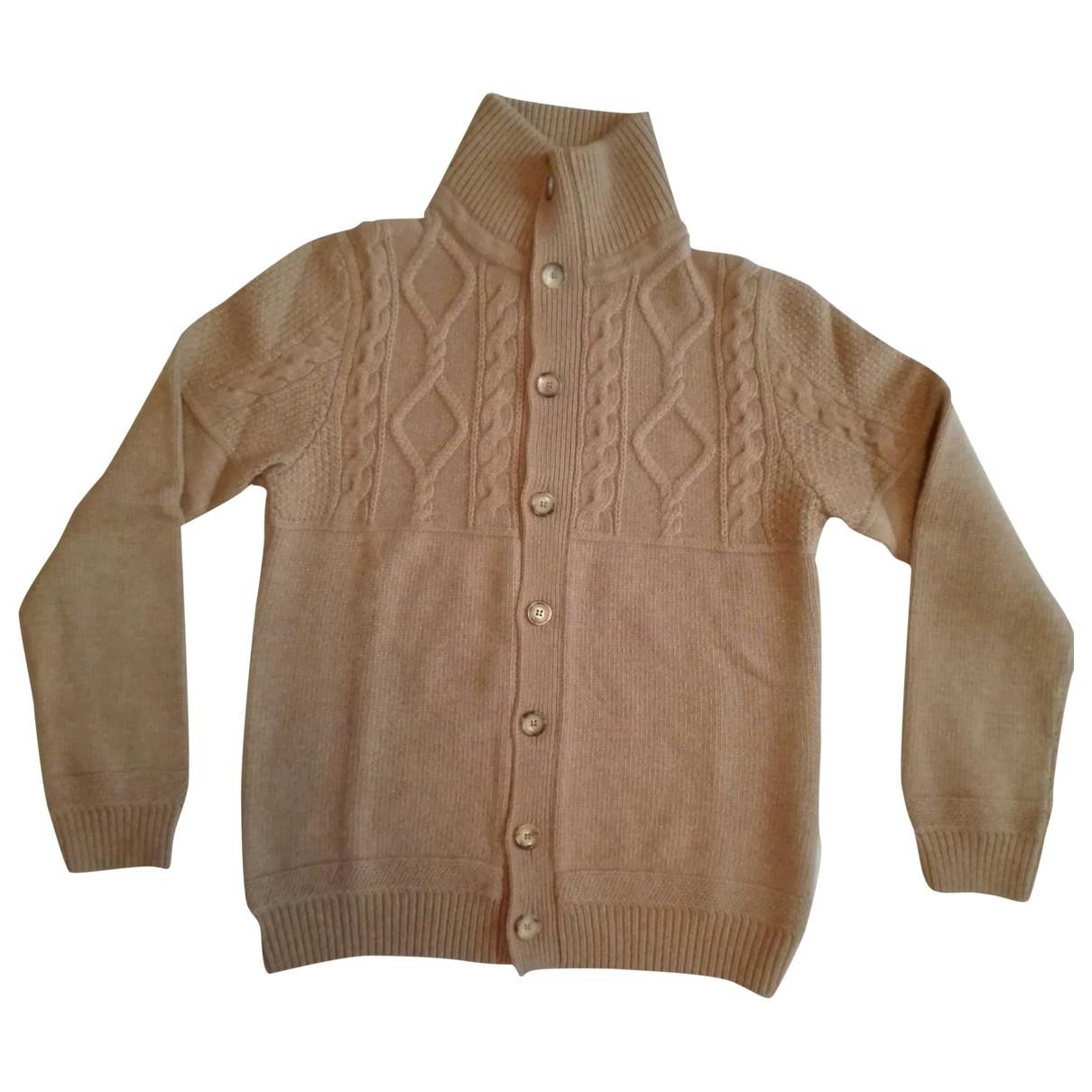 Louis Vuitton \N Pullover.Westen.Sweatshirts  in  Kamel Wolle