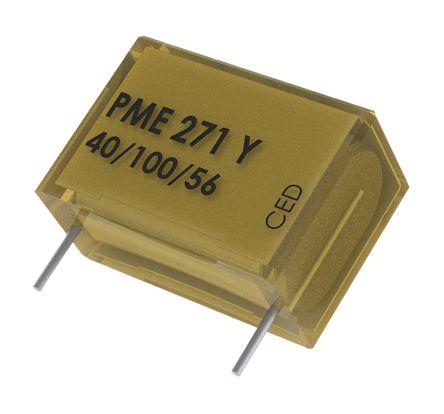 KEMET Paper Capacitor 10nF 250V ac ±20% Tolerance PME271Y Through Hole +100°C (50)