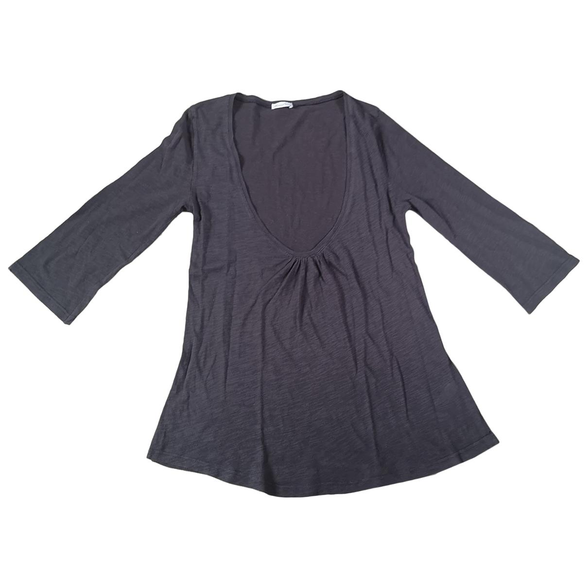 American Vintage \N Brown Cotton  top for Women S International