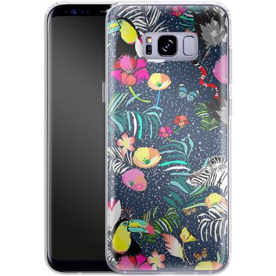 Samsung Galaxy S8 Plus Silikon Handyhuelle - Jungle Glow von Mukta Lata Barua