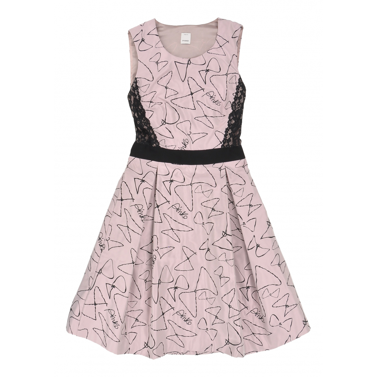 Pinko \N Kleid in  Rosa Polyester