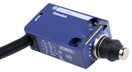 Telemecanique Sensors , Snap Action Limit Switch - Zinc Alloy, NO/NC, Plunger, 240V, IP66, IP67, IP68