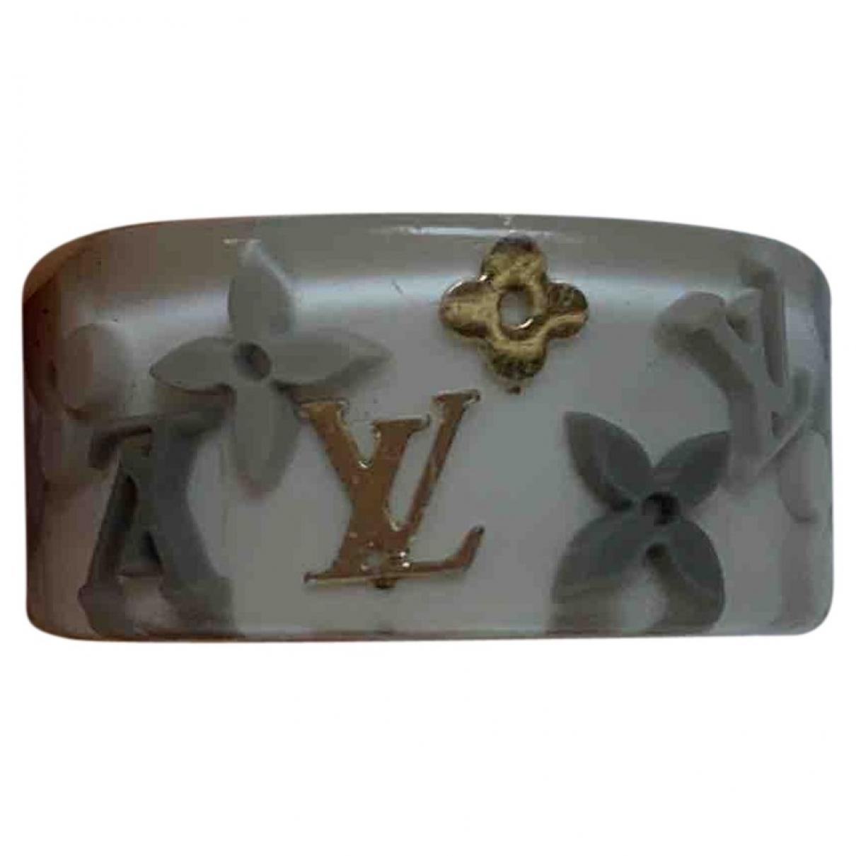 Louis Vuitton \N Ring in  Weiss Kunststoff
