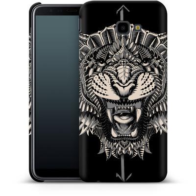 Samsung Galaxy J4 Plus Smartphone Huelle - Eye Of The Tiger von BIOWORKZ