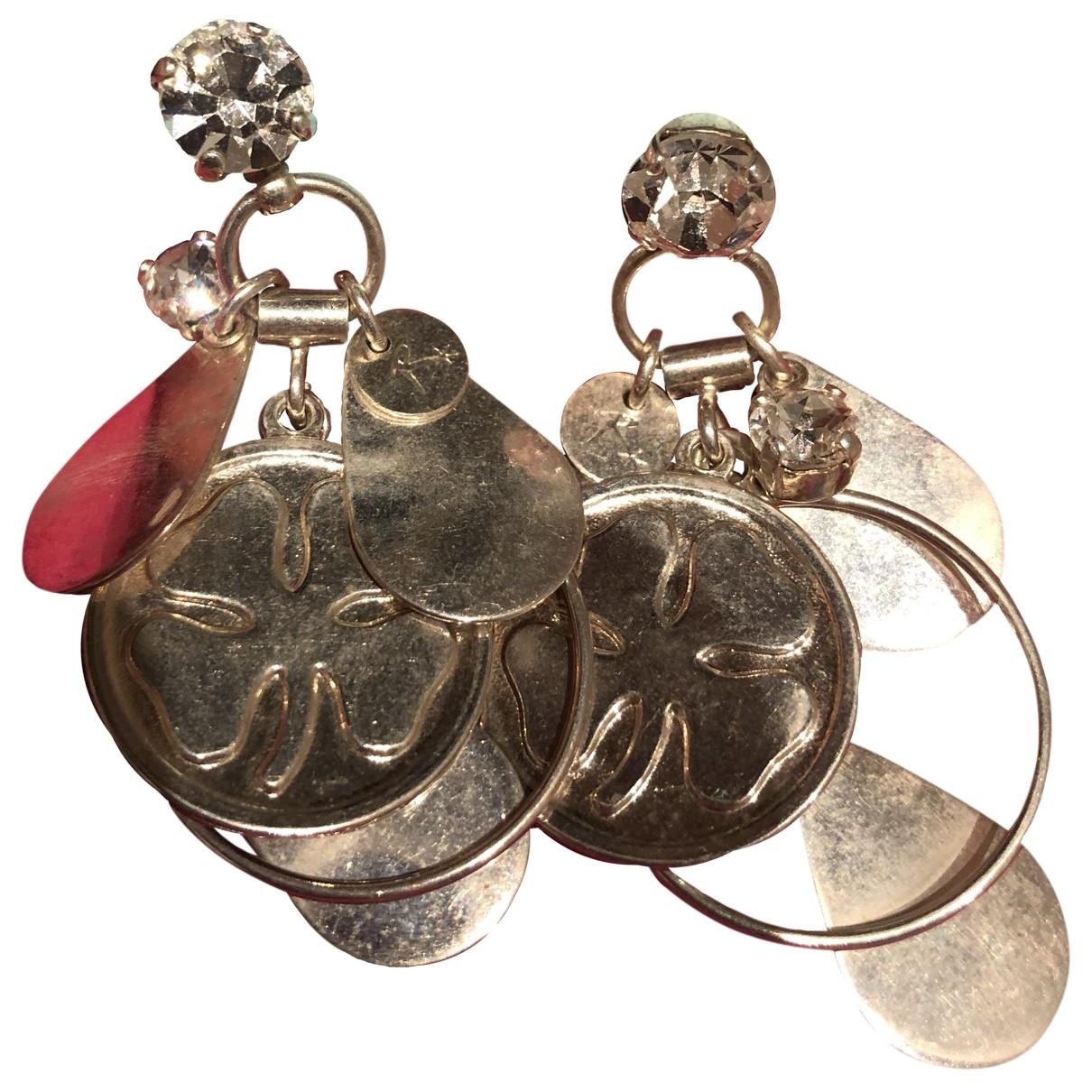 Reminiscence - Boucles doreilles   pour femme en argent - argente